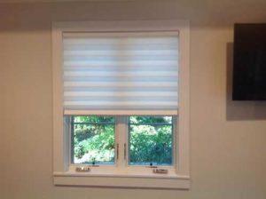 white shutter window